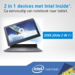 2 in 1 Intel Notebooks en Tablets
