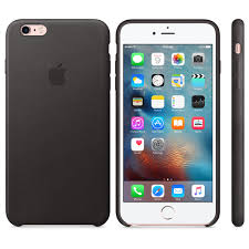 APPLE IPHONE 6S PLUS LEATHER CASE BLACK (APMKXF2ZM)