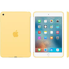 APPLE MINI 4 SILICON CASE YELLOW (APMM3Q2ZM)