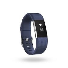 FITBIT CHARGE HR 2 ACT. TR. BLEU LARGE (FIFITBITCHHR2BL)