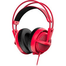 STEELSERIES SIBERIA 200 RED (ITSSSIBERIA200R)