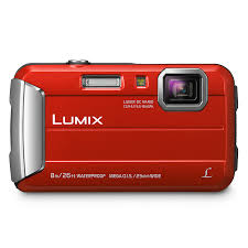 PANASONIC LUMIX DMC-FT30 ROUGE WATERPROO (PADMCFT30EFR)