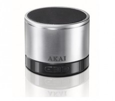 AKAI PORTABLE SILVER SPEAKER AWS04SR (AKAWS04SR)