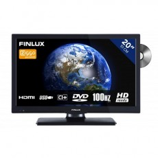 FINLUX LED DVD FLD2022 BLACK 12V (AKFLD2022BK12)