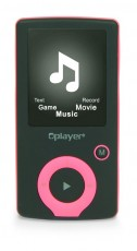 NIKKEI MP3/4 PLAYER ROSE NMP4PK (AKNINMP4PK)