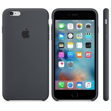 APPLE IPHONE 6S PLUS SILICONE CASE GRAY (APMKXJ2ZM)