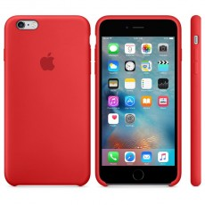 APPLE IPHONE 6S PLUS SILICONE CASE RED (APMKXM2ZM)