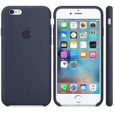 APPLE IPHONE 6S SILICONE CASE MIDN BLUE (APMKY22ZM)