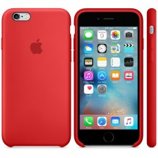 APPLE IPHONE 6S SILICONE CASE RED (APMKY32ZM)