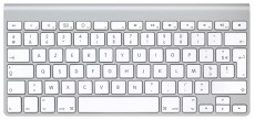 APPLE MAGIC KEYBOARD AZERTY FR LAYOUT (APMLA22F)