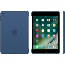 APPLE IPAD MINI 4 SILICONE CASE BLUE (APMN2N2ZM)