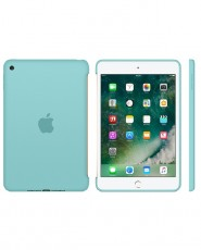 APPLE IPAD MINI 4 SILICONE CASE SEA BLUE (APMN2P2ZM)