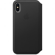APPLE IPHONE X LEATHER FOLIO BLACK (APMQRV2ZM)
