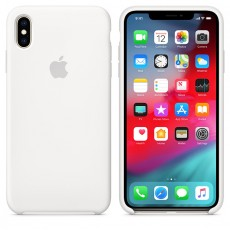 APPLE IPHONE XS MAX SILICONE CASE WHITE (APMRWF2ZM)
