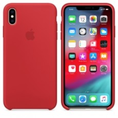 APPLE IPHONE XS MAX SILICONE CASE RED (APMRWH2ZM)