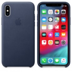 APPLE IPHONE XS LEATHER CASE BLUE (APMRWN2ZM)