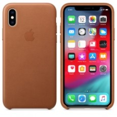 APPLE IPHONE XS LEATHER CASE BROWN (APMRWP2ZM)