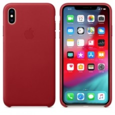 APPLE IPHONE XS MAX LEATHER CASE RED (APMRWQ2ZM)