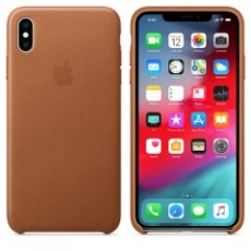 APPLE IPHONE XS MAX LEATHER CASE BROWN (APMRWV2ZM)