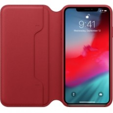 APPLE IPHONE XS MAX LEATHER FOLIO RED (APMRX32ZM)