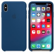 APPLE IPHONE XS MAX SILICONE CASE BLUE (APMTFE2ZM)