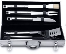 BERGHOFF 6-DELIGE BARBECUESET IN KOFFER (BH1108180)
