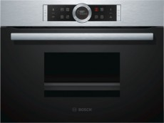 BOSCH OVEN STEAM 45CM CDG634BS1 (BICDG634BS1)