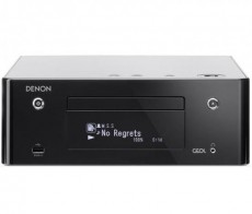 DENON CD RECEIVER RCDN-9 BLACK (DERCDN9BKE2)