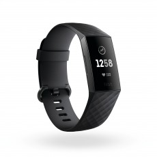 FITBIT CHARGE HR 3 GRAPHIT BLACK (FICH3HRGRBK)