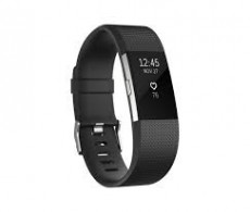 FITBIT CHARGE HR 2 ACT. TR.BLACK SMALL (FIFITBITCHHR2BS)