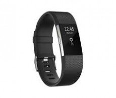 FITBIT CHARGE HR 2 ACT. TR. BLACK LARGE (FIFITBITCHHR2B)