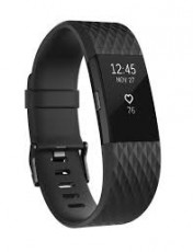 FITBIT CHARGE HR 2 ACT. TR. GUN METAL L (FIFITBITCHHR2GM)