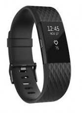 FITBIT CHARGE HR 2 ACT. TR.GUN METAL S (FIFITBITCHHR2MT)