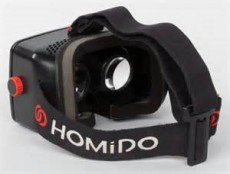 HOMIDO VIRTUAL REALITY 2 HEADSET (GCHOMIDOVR2)