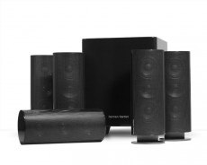 HARMAN/KARDON 5.1 SPEAKERSET HKTS5  BLACK (HKHKTS5BQ)