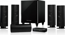 HARMAN/KARDON 5.1 SPEAKERSET HKTS65 BLACK (HKHKTS65B)