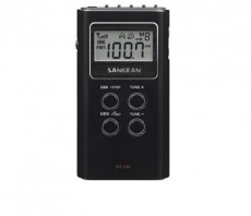 SANGEAN POCKET RADIO BLACK DT120B (HMSADT120B)
