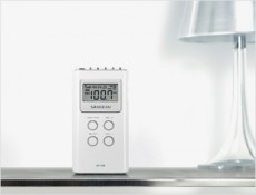 SANGEAN POCKET RADIO WHITE DT120W (HMSADT120W)