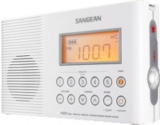 SANGEAN PORTABLE RADIO WATERPROOF H201W (HMSAH201W)