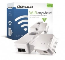 DEVOLO DLAN 550 WIFI STARTER KIT (ITDE9635)
