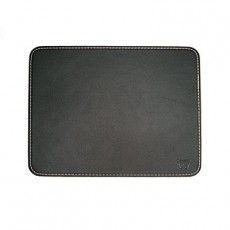 EWENT MOUSE PAD BLACK LEATHER (ITEW2761)