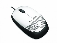 LOGITECH MOUSE M105 WHITE (ITLOM105WHITE)