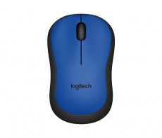 LOGITECH WIRELESS MOUSE M220 BLUE (ITLOM220BLUE)