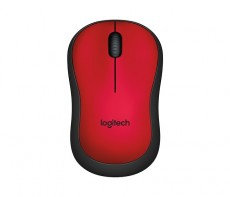 LOGITECH WIRELESS MOUSE M220 RED (ITLOM220RED)