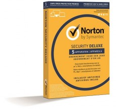 NORTON SECURITY DELUXE 1 USER 5 DEVICES (ITNODELUXE)
