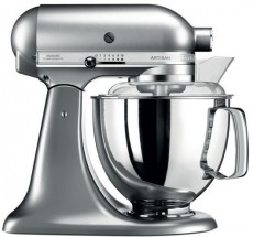 KITCHENAID ROBOT DE CUISINE NICKEL BROS (K45KSM175PSENK)