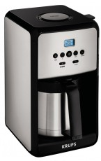 KRUPS CAFETIERE SAVOY THERMOS TIMER (KRET352010)