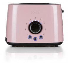DOMO BROODROOSTER DO952 INOX PASTEL ROSE (LIDO952T)
