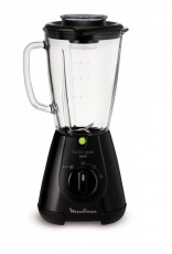 MOULINEX BLENDER FACICLIC GLASS BLACK (MOLM310810)