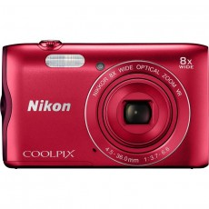 NIKON COOLPIX A300 RED (NKCPA300RED)